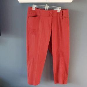 Loft Outlet Curvy Crop Pants